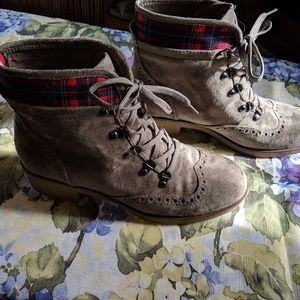 Tommy Hilfiger lace up boots